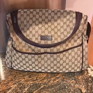 Gucci diaper bag used for a year 💯 % authentic !!